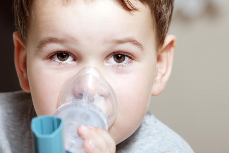 Dziecko z astmą