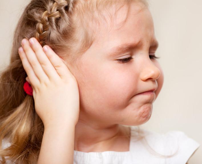 ból ucha dziecka
