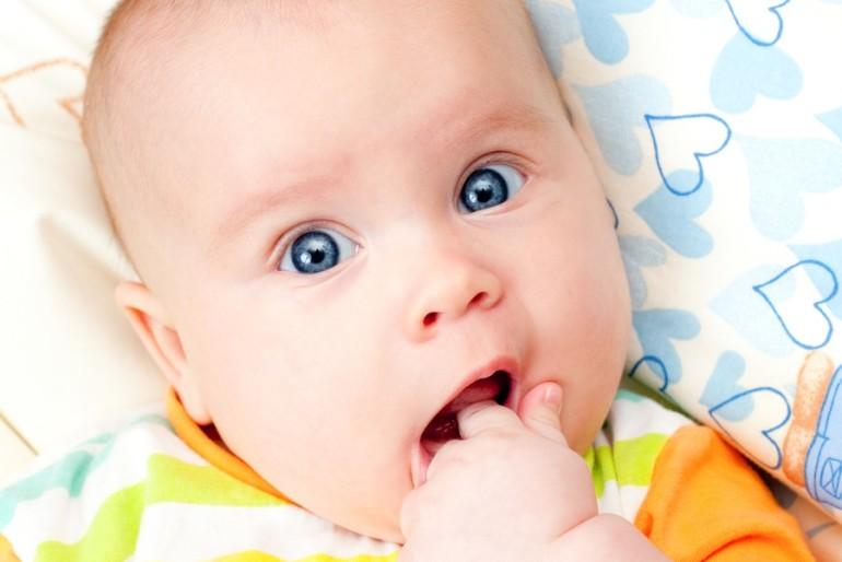 Ząbkowanie niemowląt